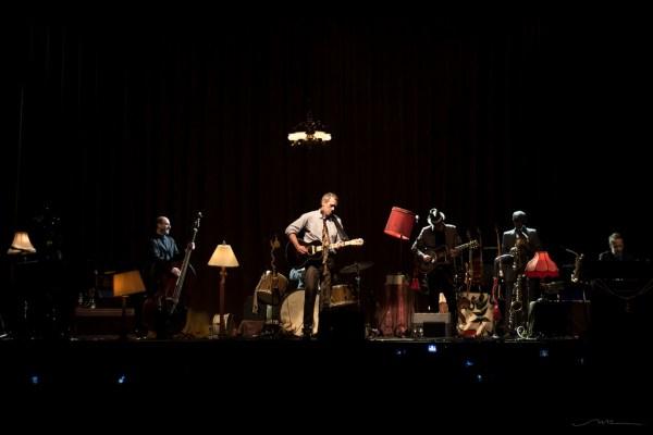 Hugh Laurie y Bottom Copper Band / Foto: Natalia B.R.