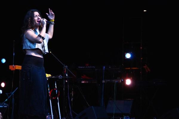 Radaid en el Teatro Diana / Foto: Carlos A. Narvaez