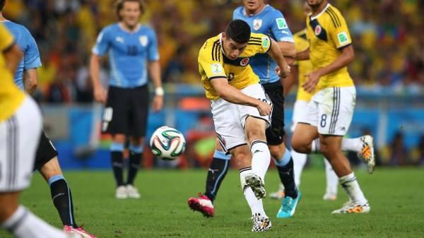 El goleador colombiano James Rodríguez