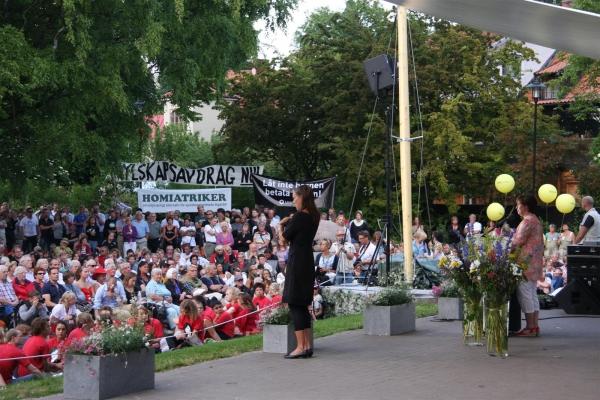 Almedalen, un festival de la política sueco