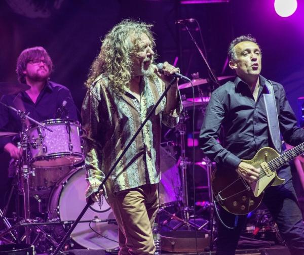 Robert Plant durante el Vienne Jazz Festival 2014 en Francia