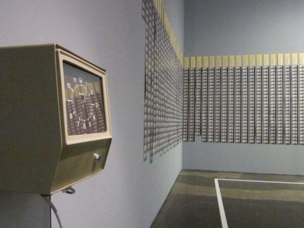 The time clock piece (1980-1981) de Tehching Hsieh