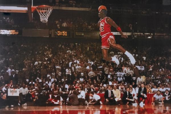 Michael Jordan, el mítico número 23 de los Chicago Bulls