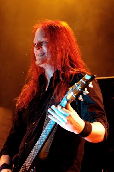 Michael Amott, guitarrista de Arch Enemy. Foto: black.stilettos.