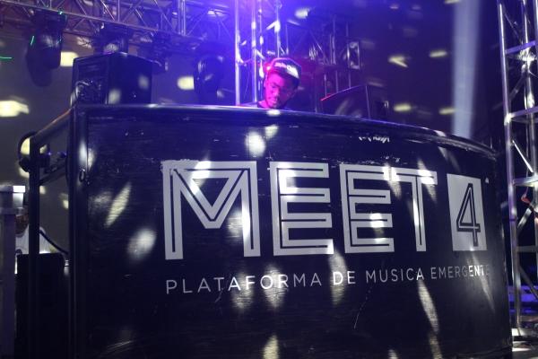 En su cuarta edición, Meet 4 apostó por talentos electrónicos. Foto: Óscar Castro / ¡Diga? Agency.