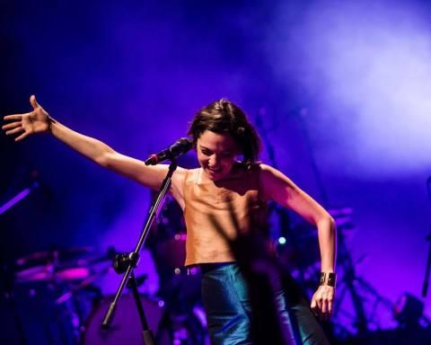 Natalia Lafourcade en el Teatro Diana