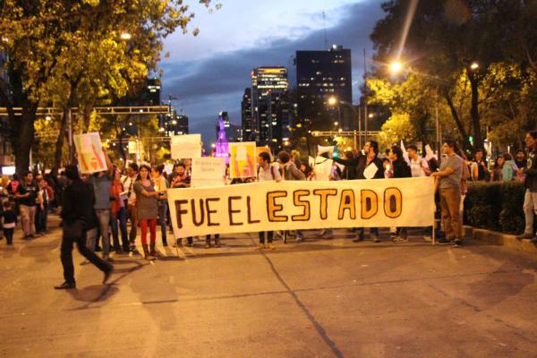 Manifestación por la violencia