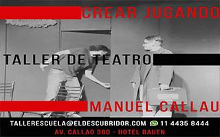 AGOSTO 2019 – CREAR JUGANDO ENTRENAMIENTO – Manuel Callau