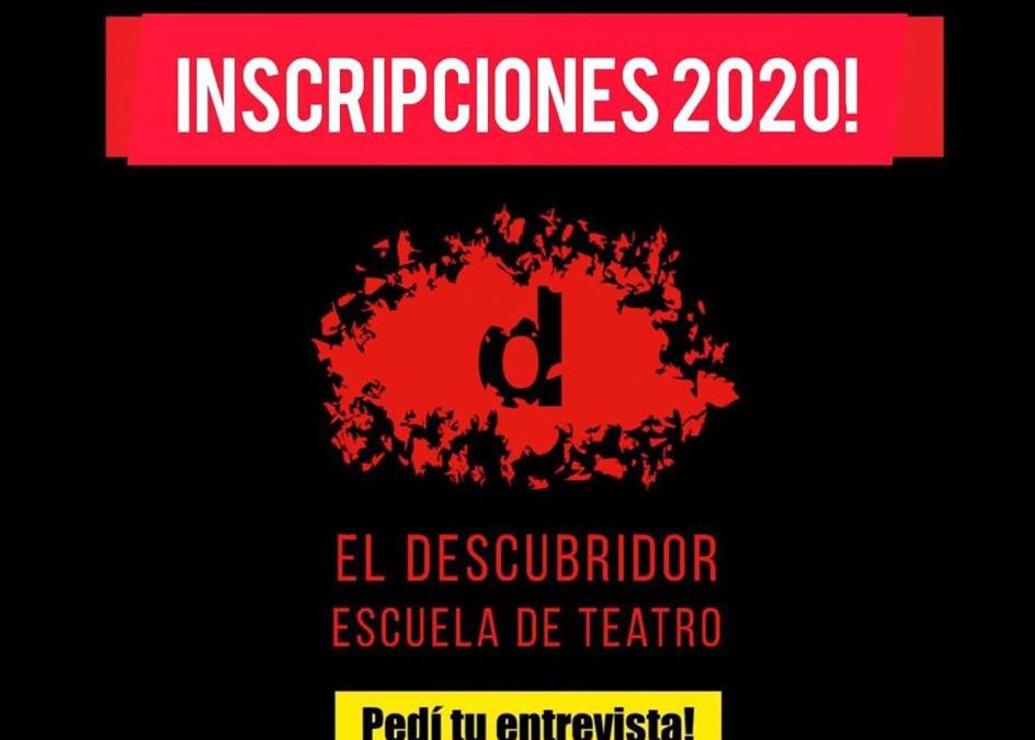 Inscripciones 2020