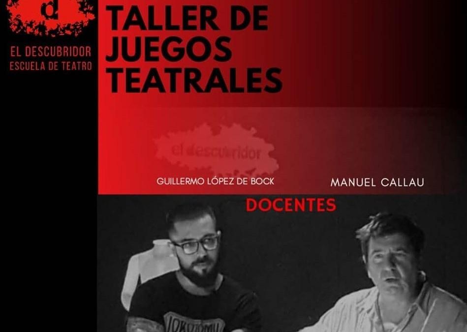 Taller de Verano – Juegos Teatrales