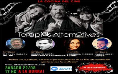 """La Cocina del Cine. Encuentro Nº2: """"TERAPIAS ALTERNATIVAS"""", de Rodolfo Durán"""