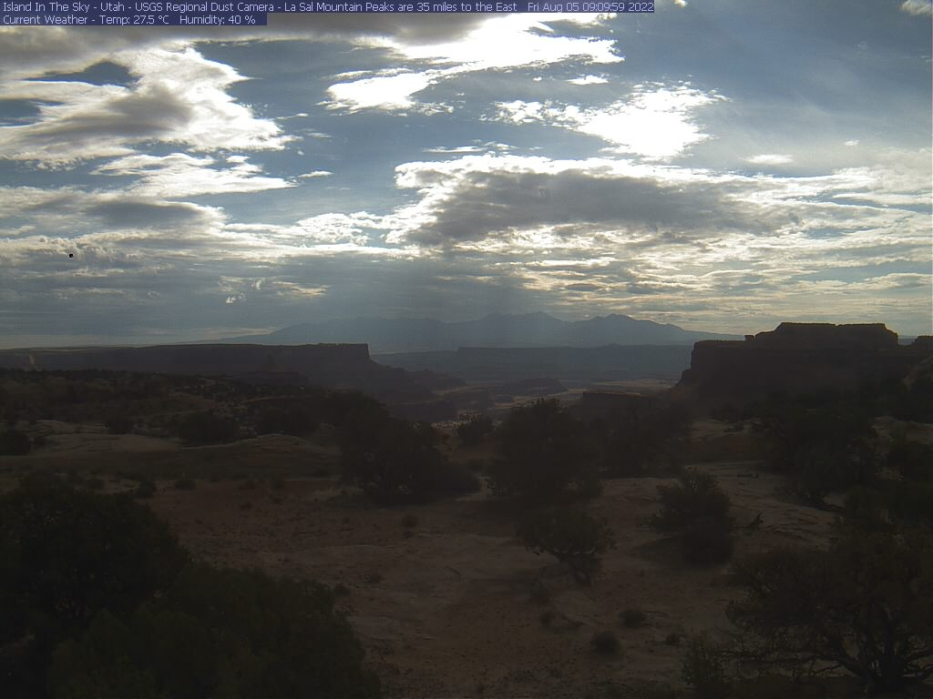 Canyonlands National Park Air Quality Camera