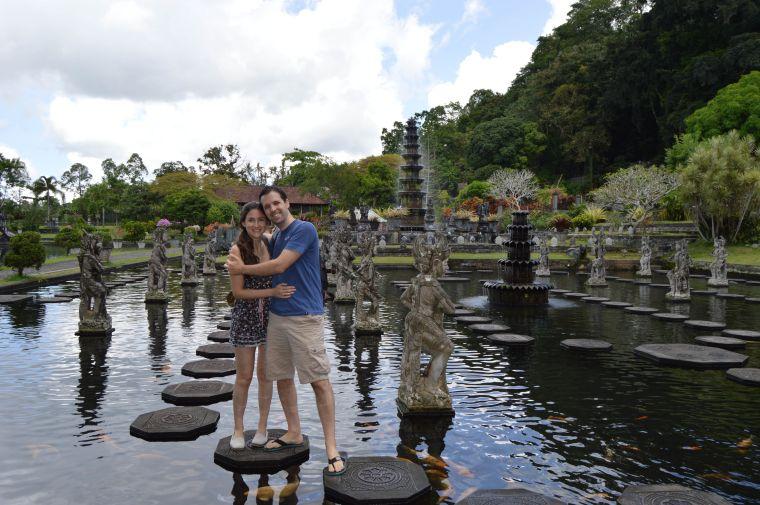 Tirta Gangga, Agua del Ganges, Bali