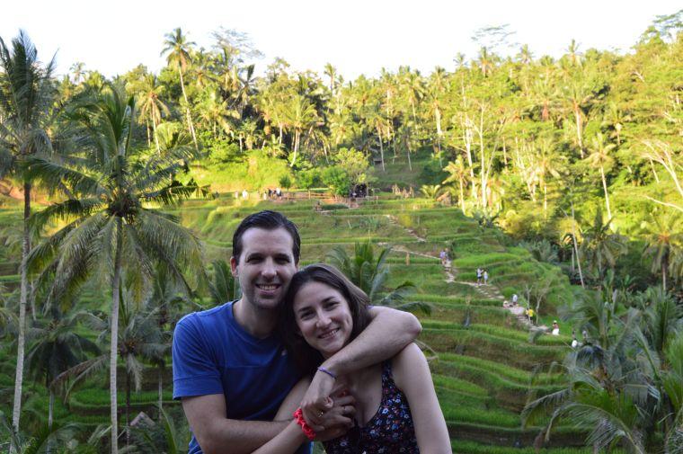 Bali: arrozales Tegalalang