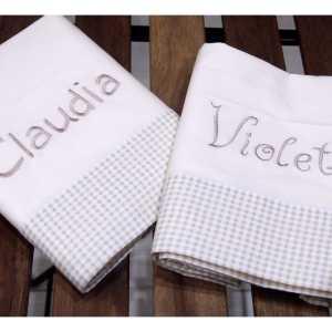 Ropita de cama personalizada de El Desván de Adriana