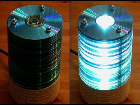 1000 Ideas Para Reciclar DVD's Y CD's . Alucinarás!