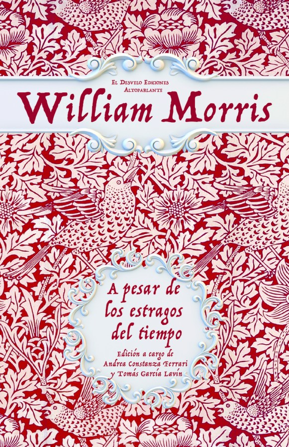 Portada del libro de William Morris