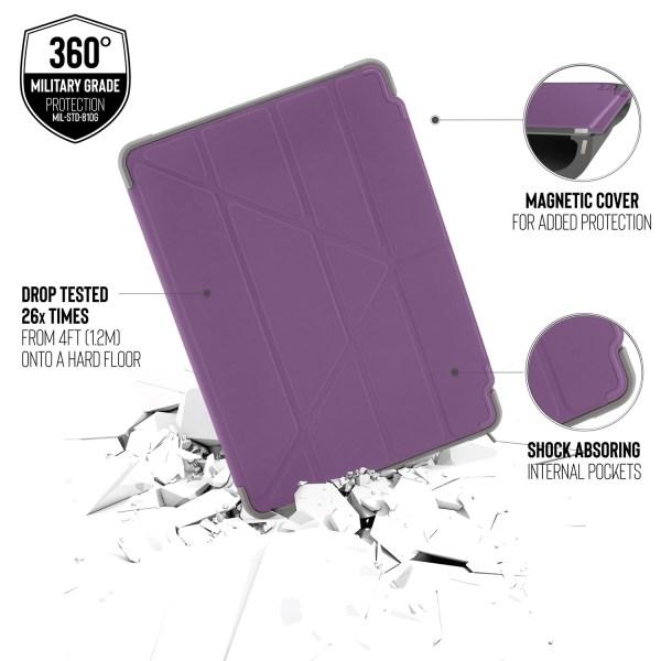 ipad-10.2-2019-origami-shield-purple-side-tilt