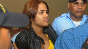 Martha Heredia en una de las audiencias. La ganadora del Latin American Idol 2009 fue dejada en libertad este martes. Foto de archivo.