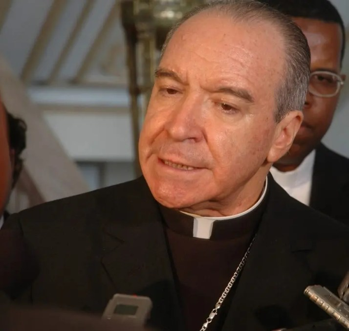 Cardenal Nicolás de Jesús López Rodríguez.