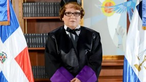 La magistrada Miriam Germán Brito.  Foto de archivo.