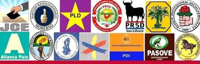 Resultado de imagen para partidos politicos rd