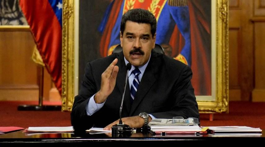 Nicolás Maduro, presidente de Venezuela. Foto de archivo. AFP