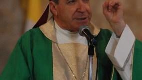 El cardenal Nicolás de Jesús López Rodríguez, realizo una liturgia con motivo de día de la madre en la Catedral de Santo domingo Republica Dominicana. 25 de mayo de 2008. El Nacional/ Archivo. Pedro Sosa