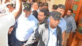 Brayan Félix Paulino y los demás acusados por el Ministerio Público.