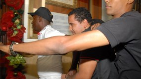 Brayan Félix Paulino fue trasladado a la Fiscalía del DN.