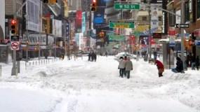 La nieve comenzará a caer en la madrugada y el mayor efecto se sentirá en la mañana, estimándose que caerán dos pulgadas por hora.