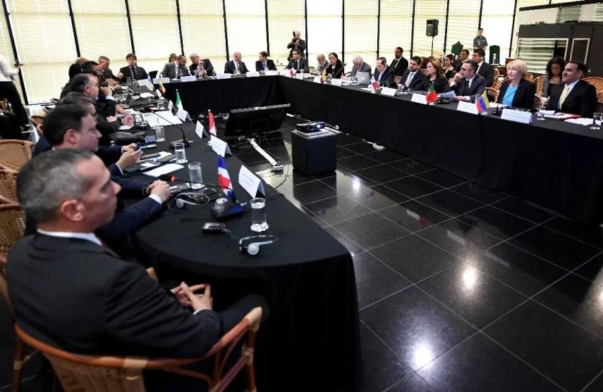 El acuerdo fue producto de una reunión organizada por la Procuraduría General de Brasil y a la que asistieron fiscales de Argentina, Chile, Colombia, Ecuador, México, Panamá, Portugal, Perú, República Dominicana y Venezuela. AFP