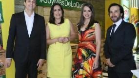 Alexandre Carreteiro, Marisol Martínez, Laura Pimentel y Juan Carlos Suárez.