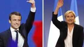 Macron y Le Pen se verán en una segunda vuelta el 7 mayo.