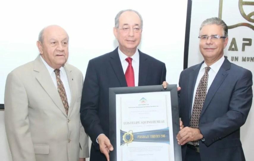Franklyn Holguín Haché, Luis Felipe Aquino y  Luis José Chávez.