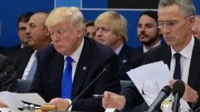 """Donald Trump pidió  """"un momento de silencio"""" por las víctimas del atentado de Manchester."""
