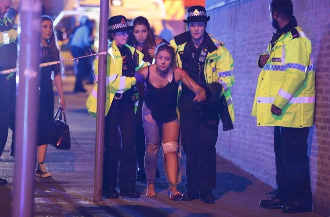 Hay 22 muertos y al menos 59 heridos — Atentado en Manchester