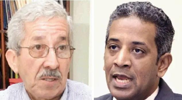 El politólogo Rafael Toribio y el sociólogo Javier Cabreja expresaron preocupación por problemática.