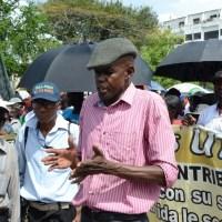 Jesús Núñez, vocero de los cañeros fue detenido ayer en Higüey.