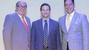 Bienvenido Pantaleón, Edwin Espinal y Elmer González.