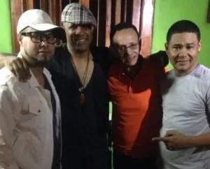 Yuri Beltré, Jhon Martínez, Luis Segura y El Jeffrey.