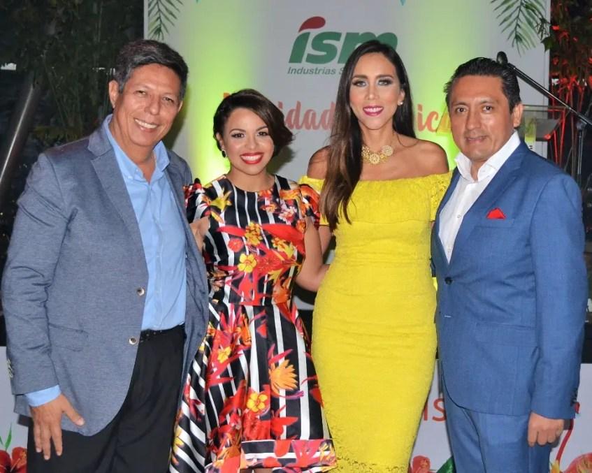 Enrique Rosas,  Gilsé Echavarría, Lorena Gutiérrez  y  Mario Medina.