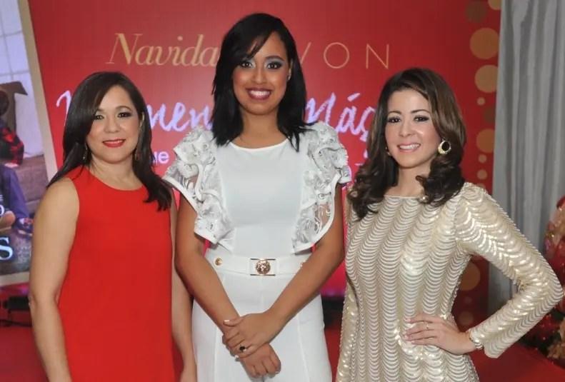 Ana Verónica Rodríguez, Keila Ulloa y Dafne Guzmán.