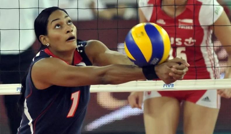 Annerys Vargas, la atleta de voleibol más brillante durante 2017.