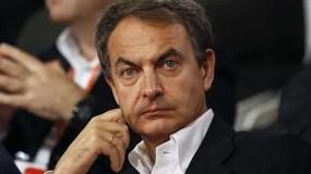 Exjefe del Gobierno español José Luis Rodríguez Zapatero.