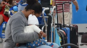 Cientos de pasajeros fueron afectados por suspensión.  Archivo.