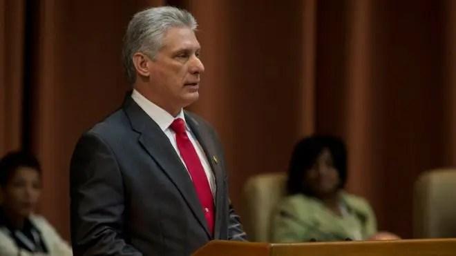 Miguel Díaz-Canel recordó que Raúl Castro se mantiene como líder del Partido Comunista de Cuba.
