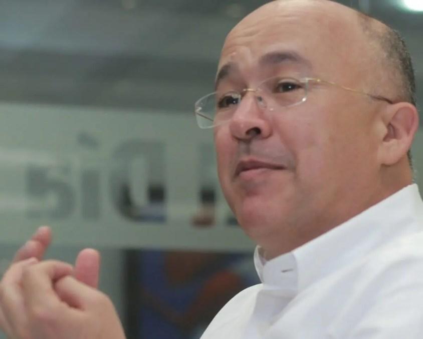 Francisco Domínguez Brito aspirante a la nominación  presidencial por el PLD.