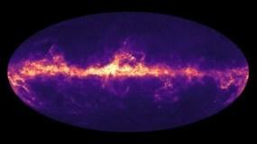 Imagen basada en las observaciones del satélite Gaia.