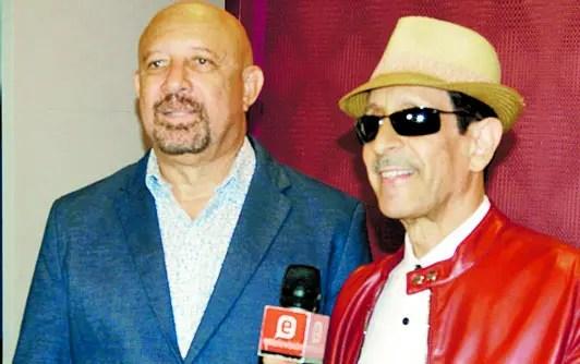 Ringo Martínez y Jossie Esteban.